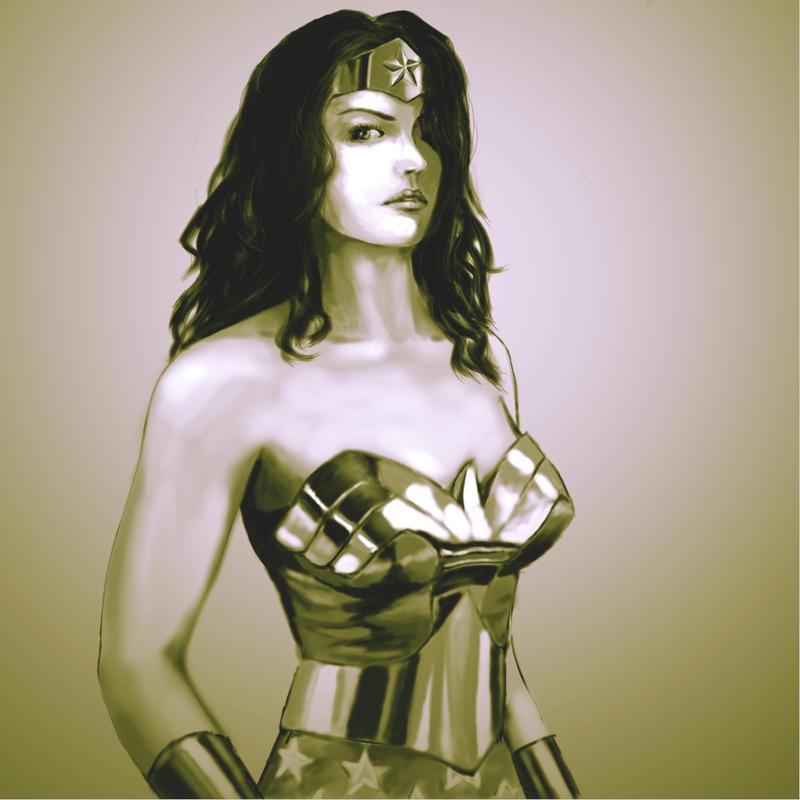 Diana of Themyscira by CELENG