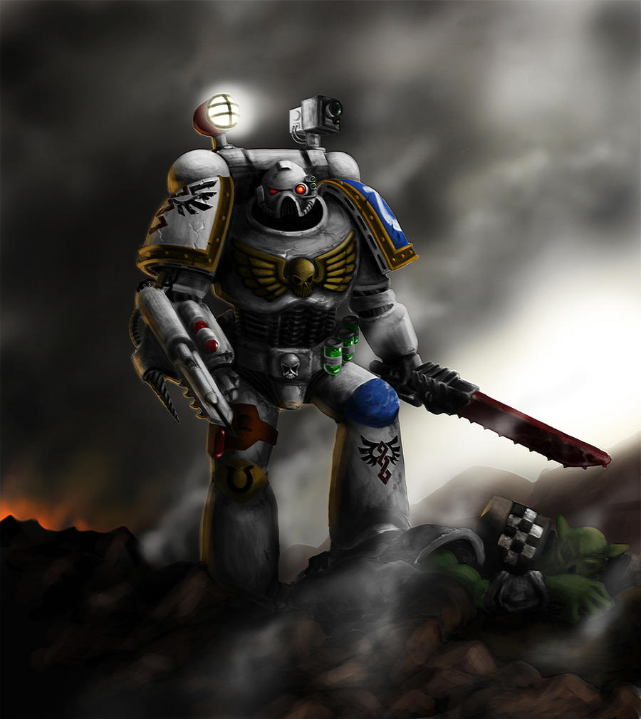 Warhammer 40k death company wallpaper - Warhammer 40k Apothecary By Celeng
