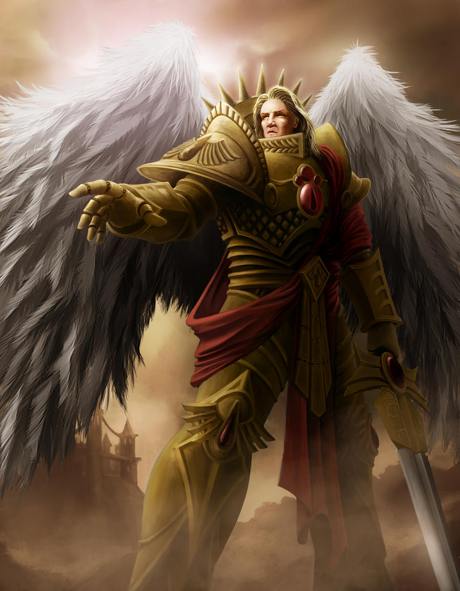 [W40K] Collection d'images : Space Marines The_angel_of_baal_by_celeng-d4qkb8r