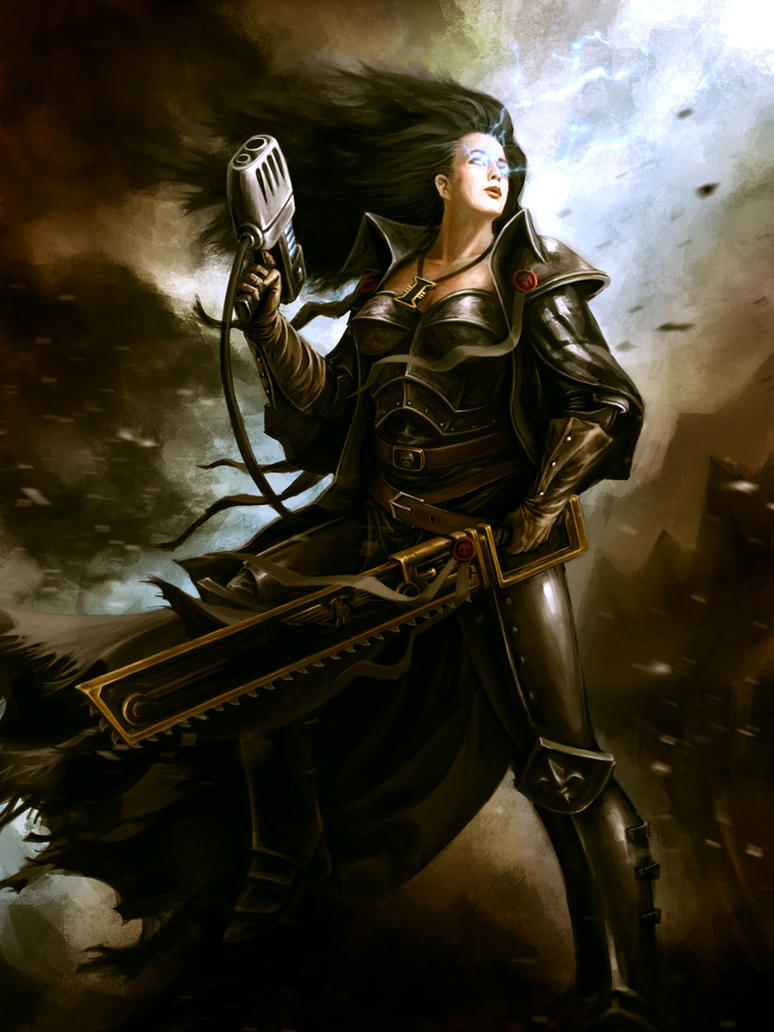 Dark Heresy Inquisitor Commission by CELENG