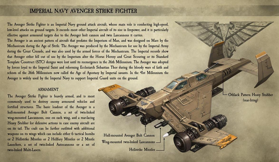 Avenger Strike Fighter by CELENG
