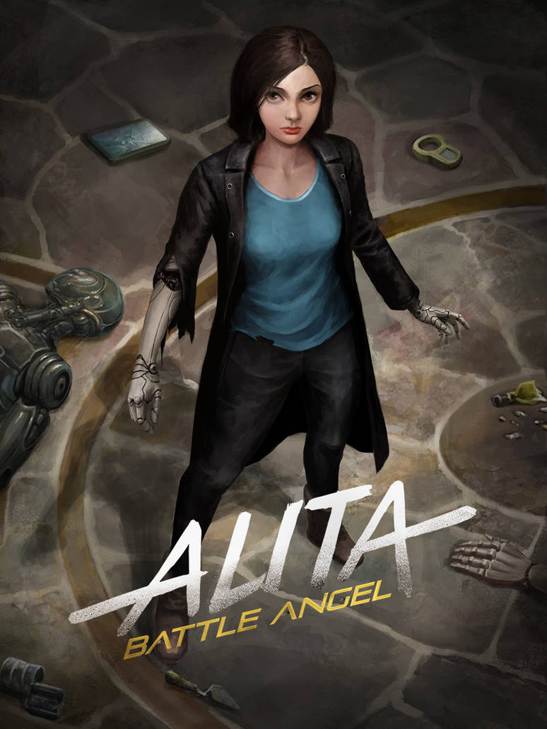 Alita Battle Angel by CELENG