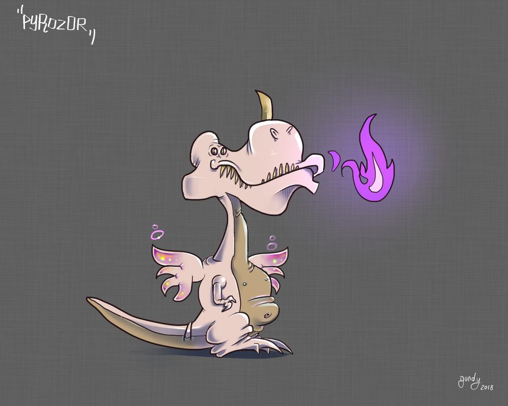 Pyrozor by RomualdDub