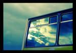 Storm in a Bus Window