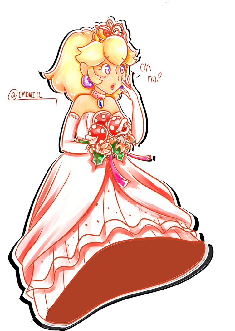 Wedding Peach! (Odyssey) by Emoneylong on DeviantArt