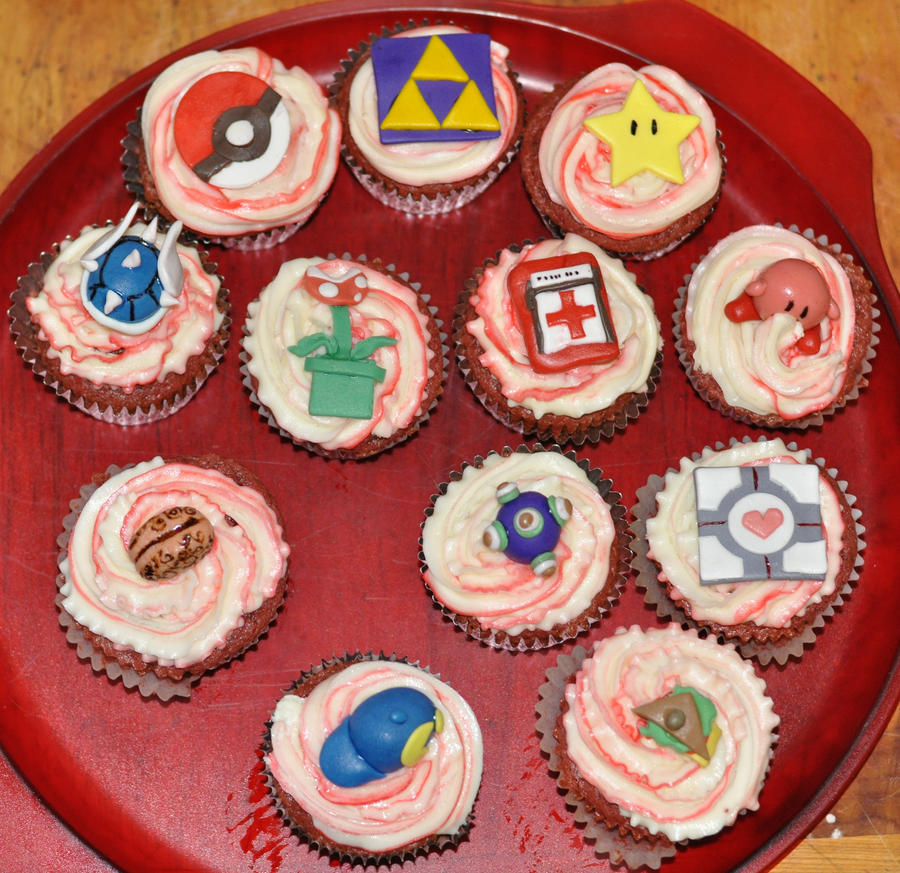 Gamer Cupcakes By Vampjezzc On DeviantArt