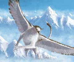Snowy Griffin by Eyari