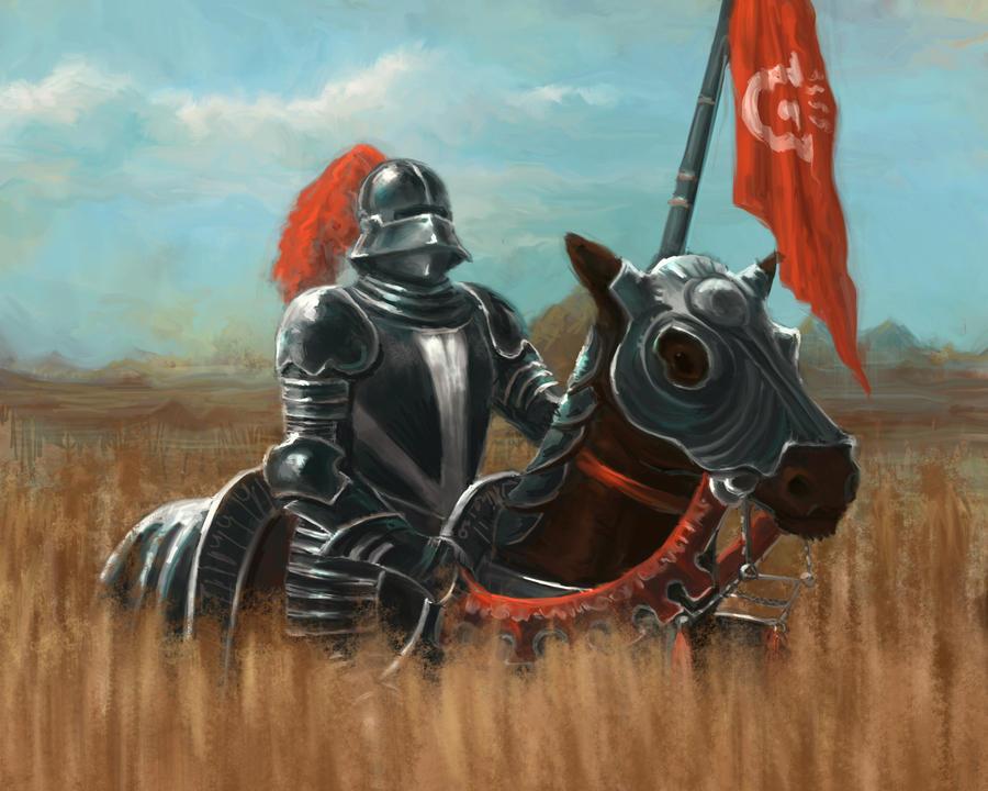 Medieval Knight by Eyari on DeviantArt