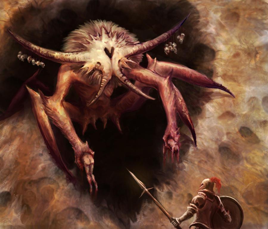 Red Widow Demon by Eyari