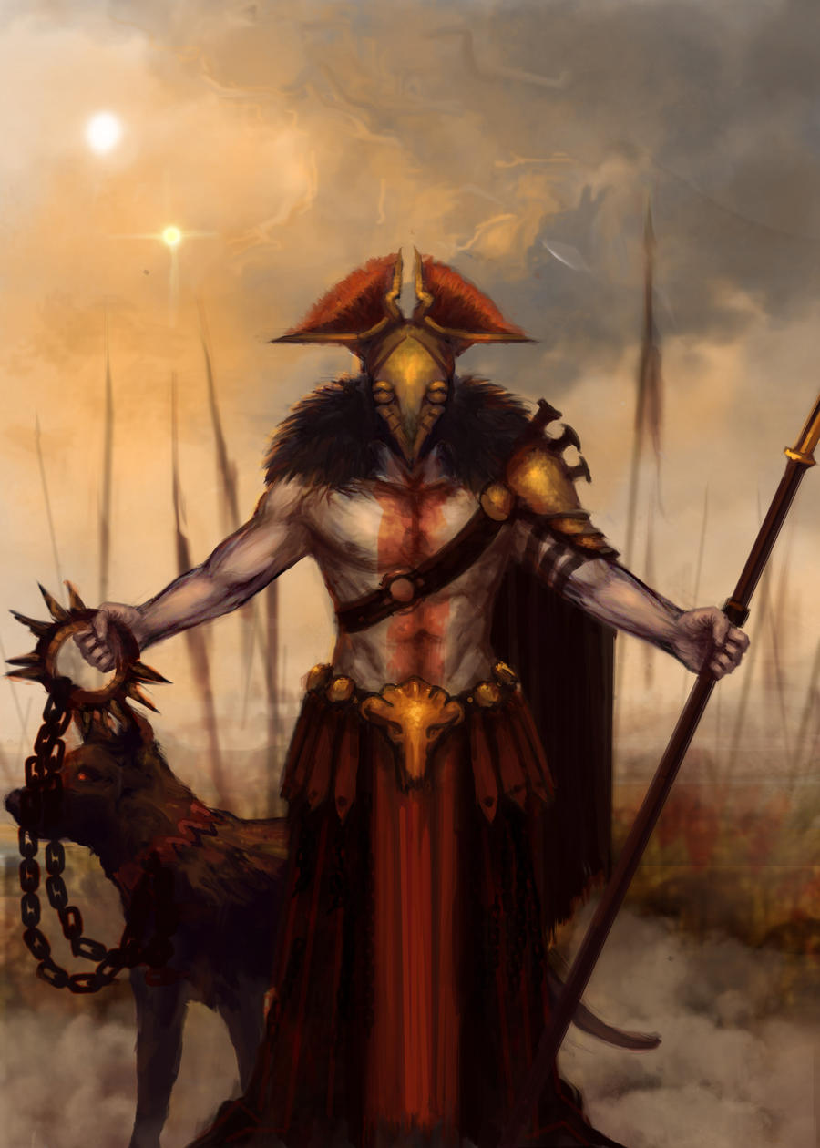 Ares, god of war by Eyari on DeviantArt