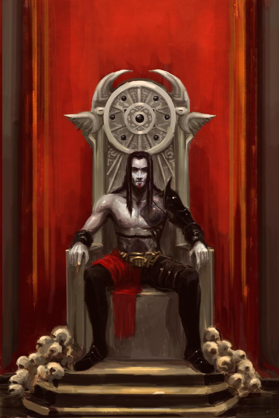 Nevich, the third vampire by Eyari
