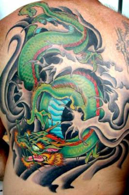 Japanese Dragon Tattoos Art Design Picture 10