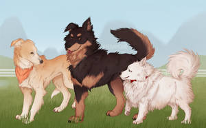good woofs by hyenamoxie