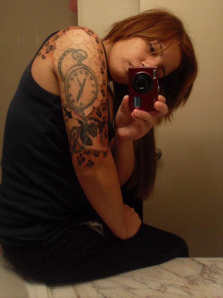 Half sleeve. - sleeve tattoo