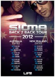 sigma tour poster by BrettUK