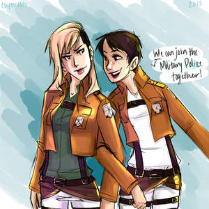 genderbend jean and marco