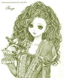 .sw. - Kaye - commission by princess-aki