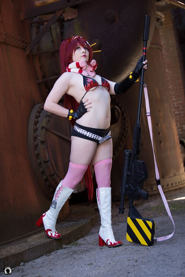 To the Surface! ( re-vamped pre-timeskip yoko ) by Foxy-Cosplay