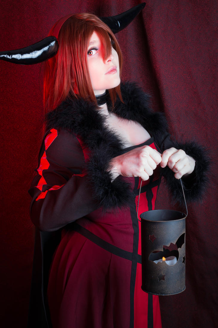 Crimson Scholar by Foxy-Cosplay