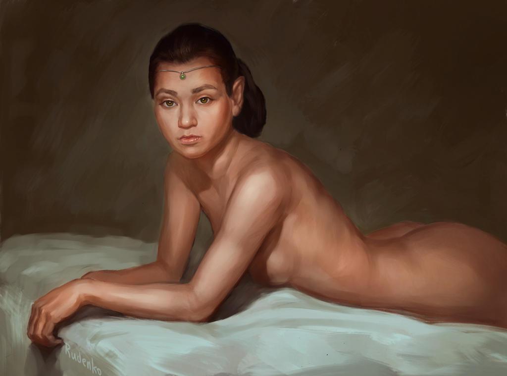 Elf Portrait by AndreyRudenko