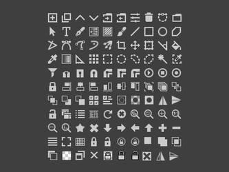 Krita 16x16 icons by AndreyRudenko