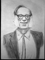 Isaac Asimov by grini