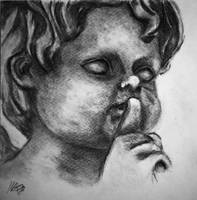 Statue Shhhh by grini