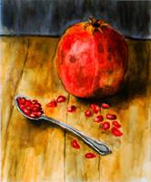 Pomegranate by grini
