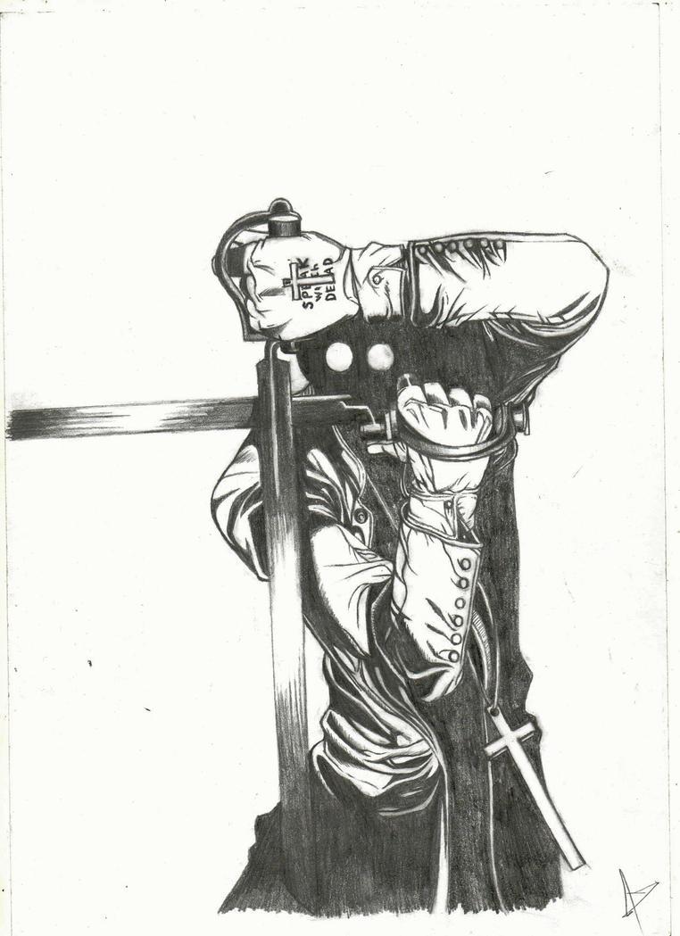 Alexander Anderson (hellsing) by DJgoji93