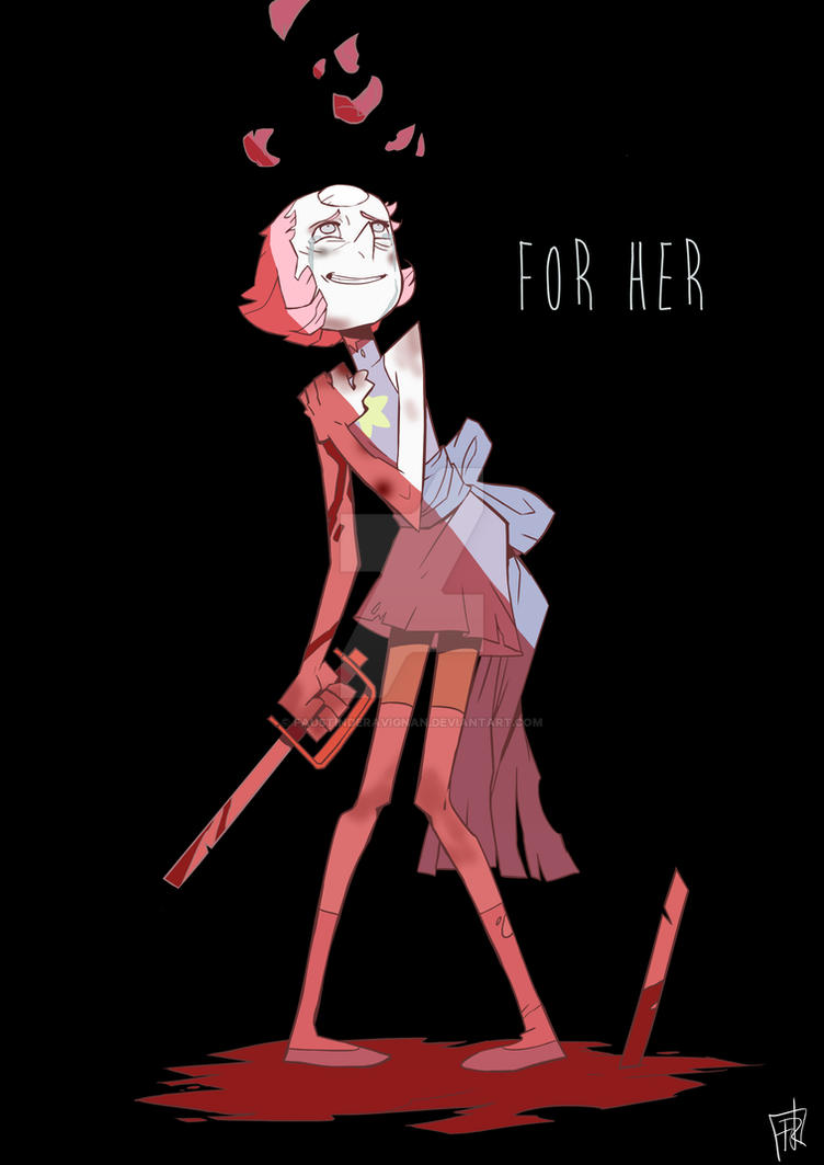 A lil' fanart of Pearl. How do you think she could react if she was watching American Beauty or playing at Rule of Rose? X)