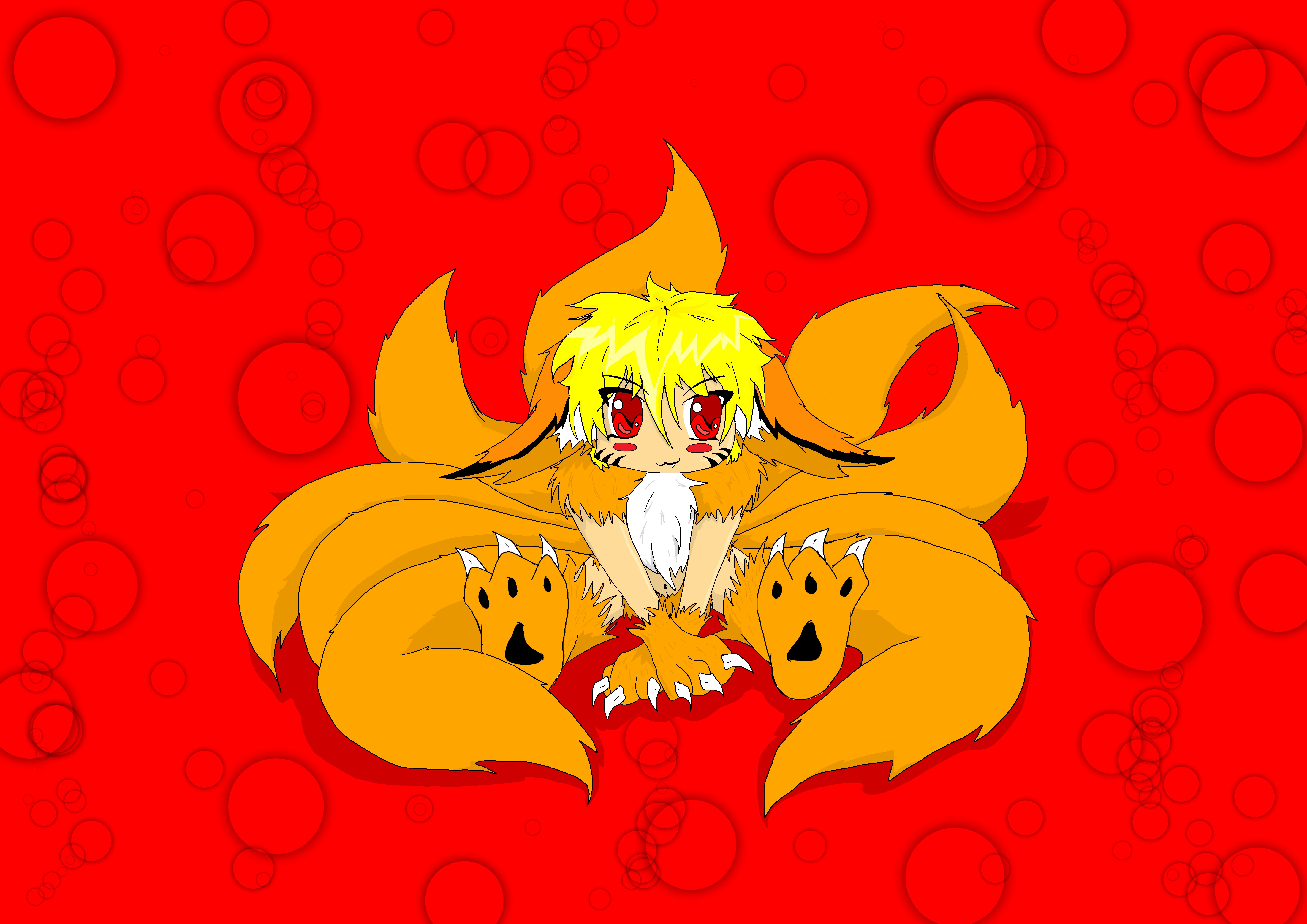 Kawaii Evil Naruto Tails