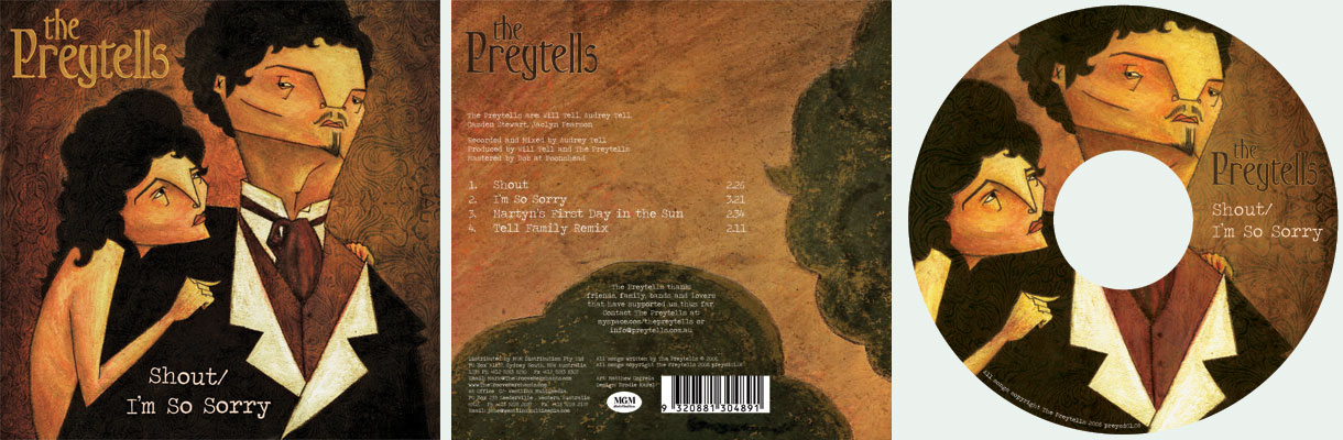 Preytells Single Cover Art by captain-amazing