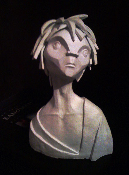 Sandman Bust by captain-amazing