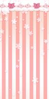 Sakura Ribbon Free Costume Background by judetoth