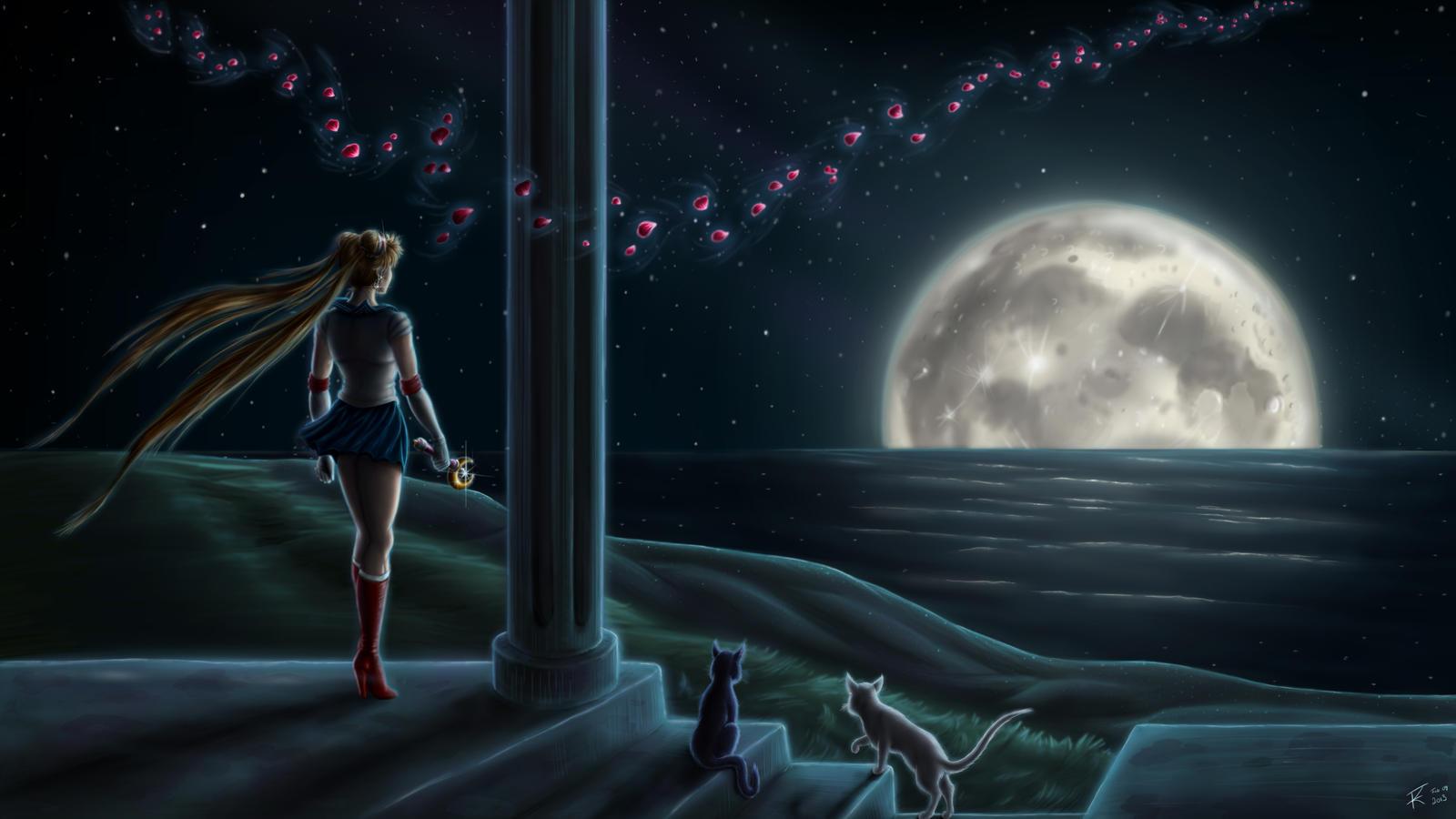 In the Moon Light by GeekingOutArt