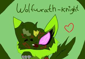 Wolfwrath-Knight by XxPaintkittehxX