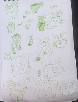 Vacation Sketch 2h17p027 #1