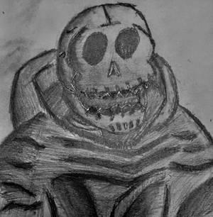 Skull Servant Handrawn