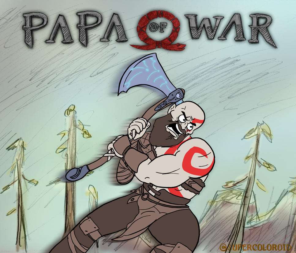 God of War - parody trailer (read description) by SuperColoroid