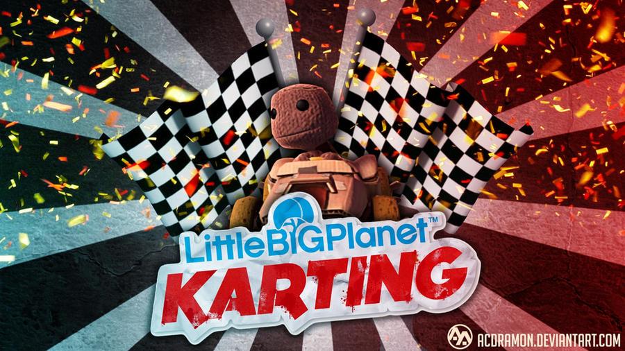 LittleBigPlanet Karting Wallpaper by acdramon