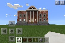 Back To The Future Clock Tower in Minecraft by