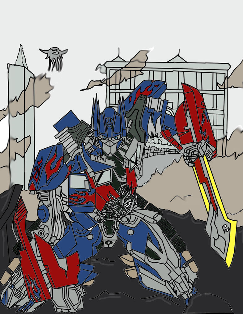 transformers dark of the moon optimus primegamerzzon on deviantart