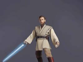 Obi Wan Kenobi by GamerZzon