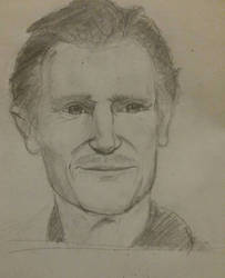 Liam Neeson Sketch