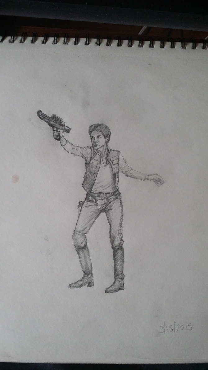 Han Solo (Old Sketch)