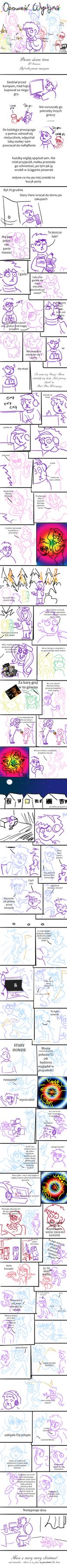 Magiczny Komiks-Opowiesc Wigilijna by kurwakolejnekonto