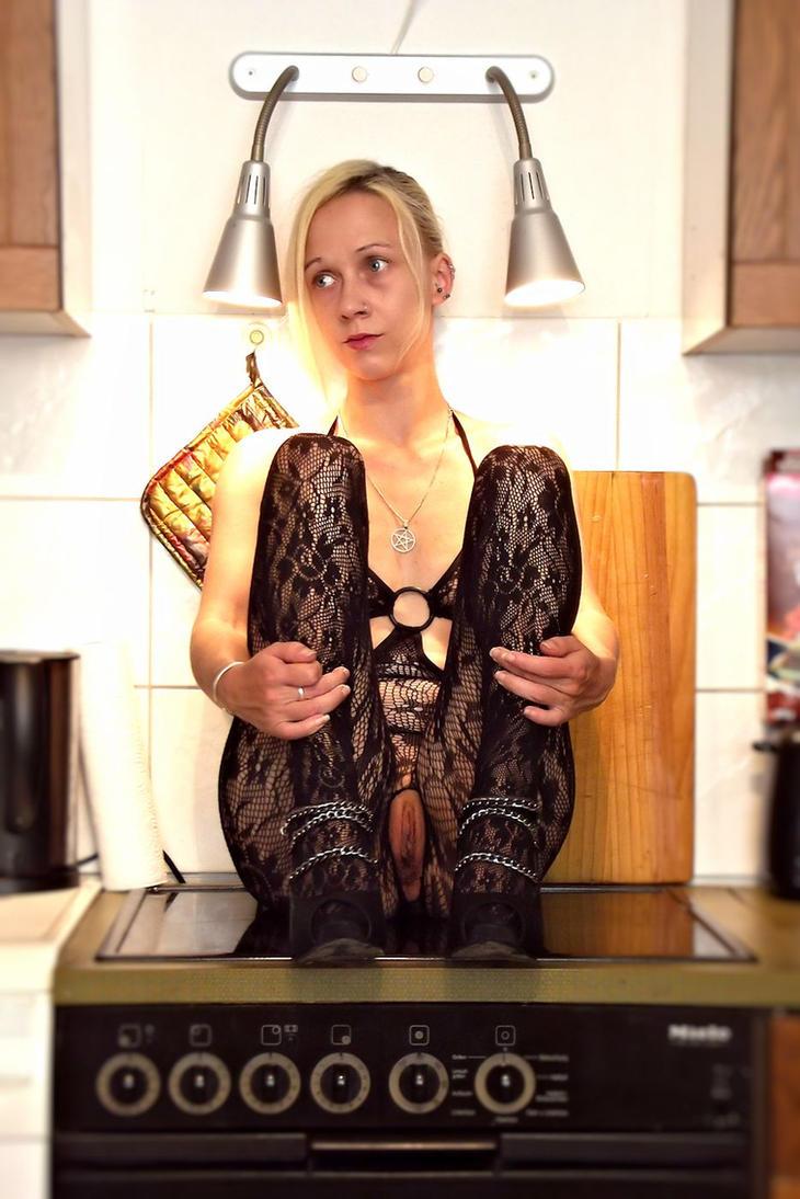 Nude Kitchen 3 by Trolline