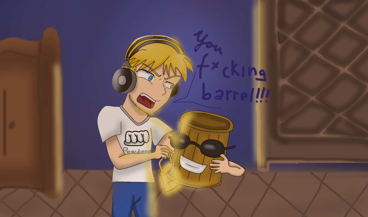 A picture for Pewdiepie by Agi6