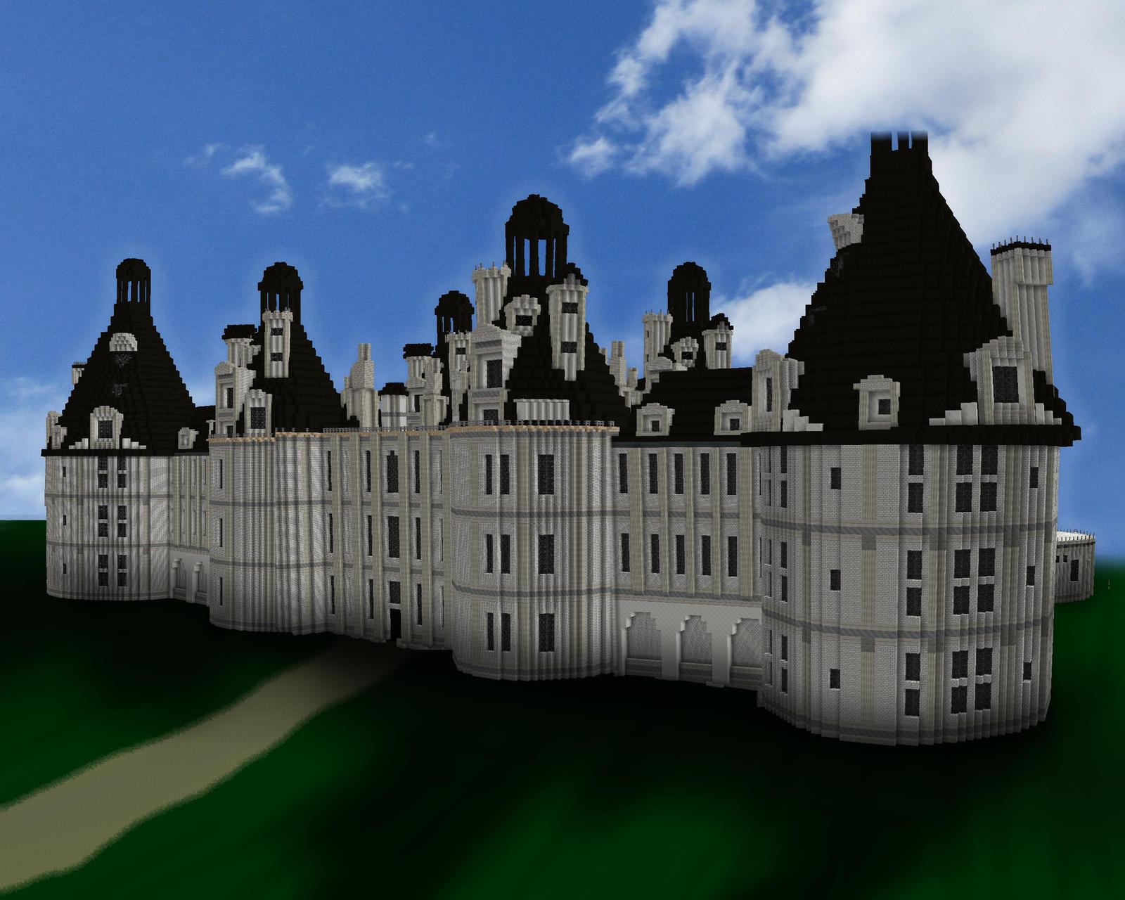 Minecraft chateau de chambord by skysworld on deviantart - Chateau de minecraft ...