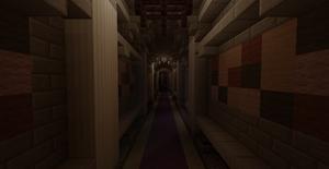 Kings Castle Hallway - Minecraft by skysworld